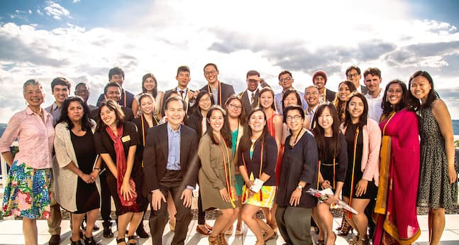 AASP graduates and faculty